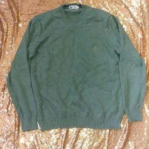 J Crew sweater sweatshirt heavy knit mens shirt